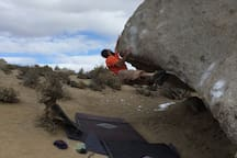 Bouldering in the magical Buttermilk