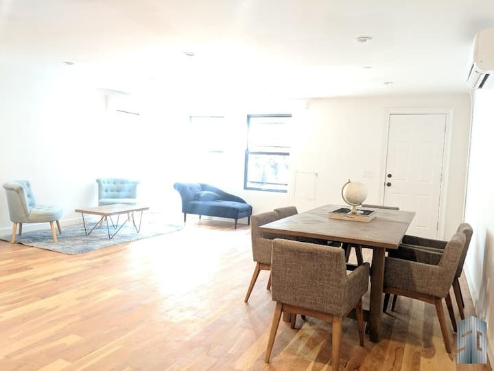 Large + beautiful Brooklyn apt to live & work