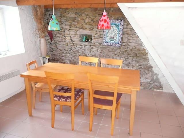 Les volets bleus, maison de caractère - Tréogat - Haus