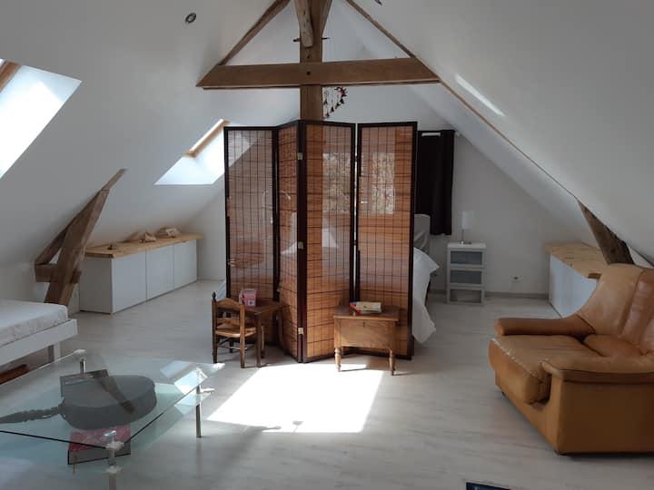 Loft indépendant - Région Vernon/Giverny