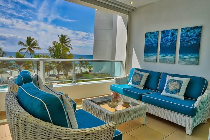 Amazing luxury beach 3 bedroom apartment - 207 MB - Playa Juan Dolio - Apartment