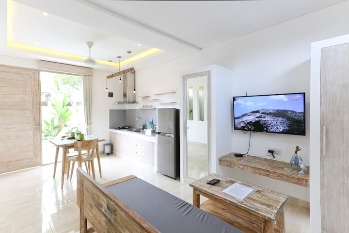New Open! ★ Very Cozy Green Studio in Sanur,No11 - Denpasar Selatan - Appartement