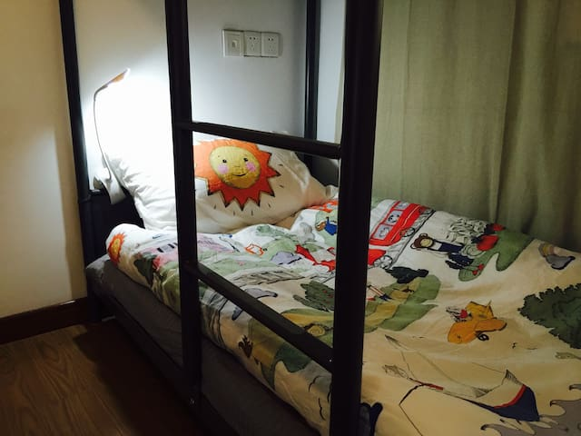 Wendy & Kuma ♡ 姑苏城内,地铁1号线临顿路站☆临靠平江路2分钟步行^^下位 - Suzhou - House
