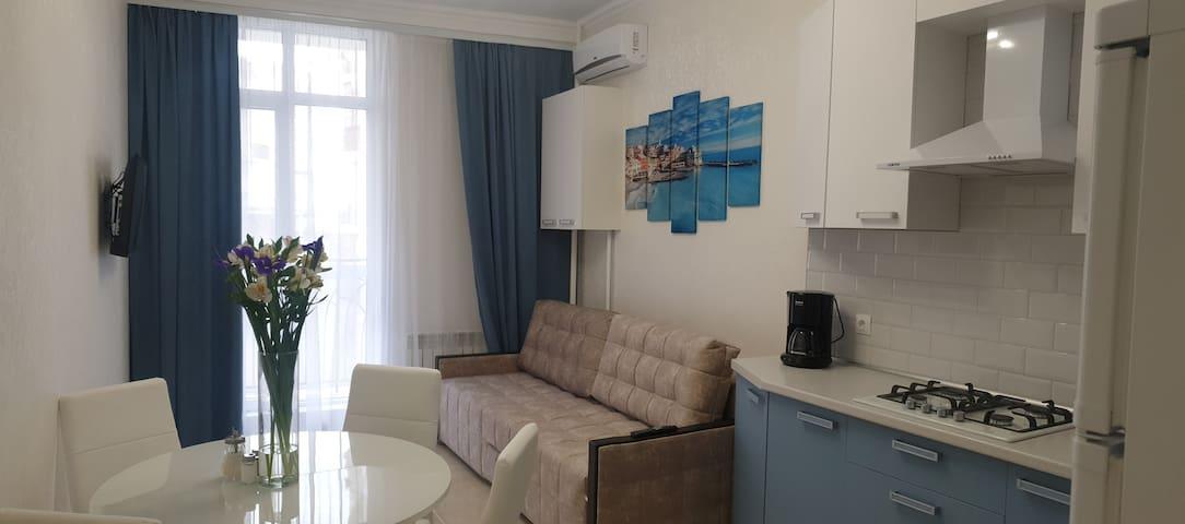 Одна из самых комфортных квартир в Геленджике!