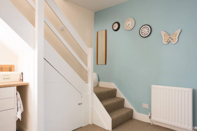 Open plan stairway