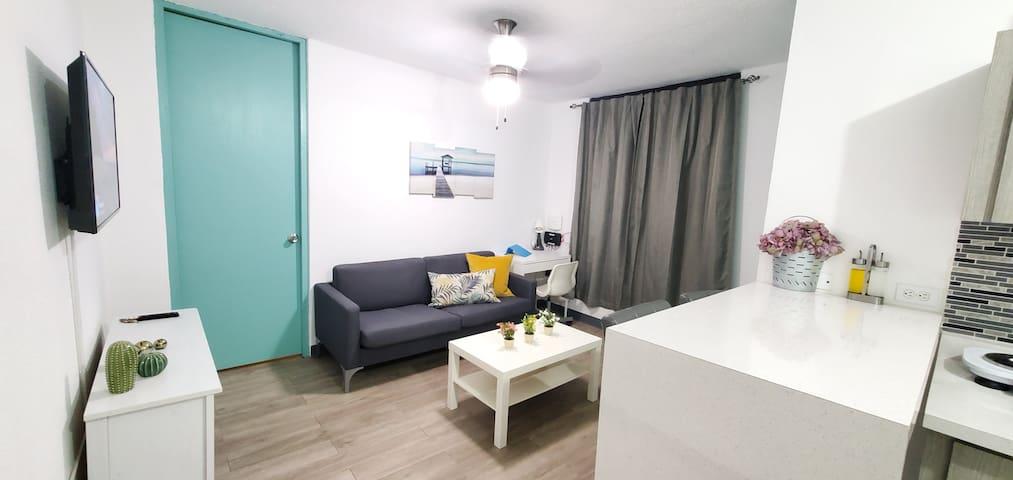 Cozy apartment close to Condado Beach & La Placita