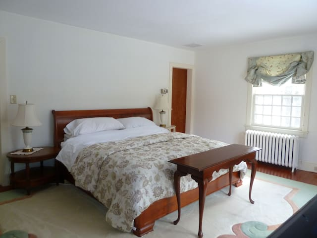 luxury suite in princeton borough - Princeton - Bed & Breakfast