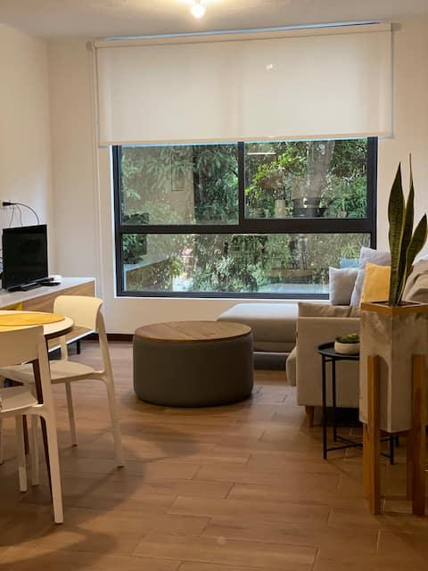 Hermoso apartamento completo en Colonia Escalon
