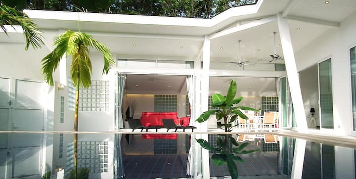 Villa mango est un lieu de sérénité et de paix.