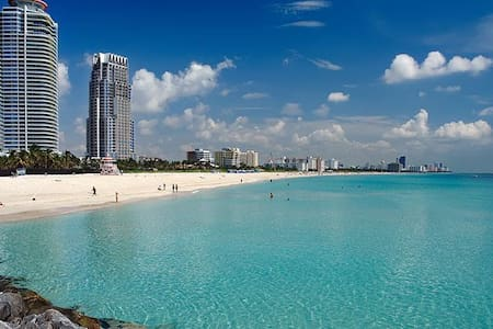 Water View Massive Balcony by Beach FREE BEER! - Miami Beach - Condomínio