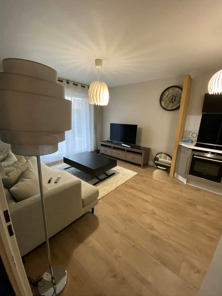 Appartement cosy type T2  Proche Paris