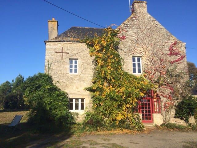 Joli manoir breton du XVIIème siècle - Questembert - Huis