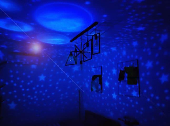 星空·投影双床房/星空房/秒变家庭影院