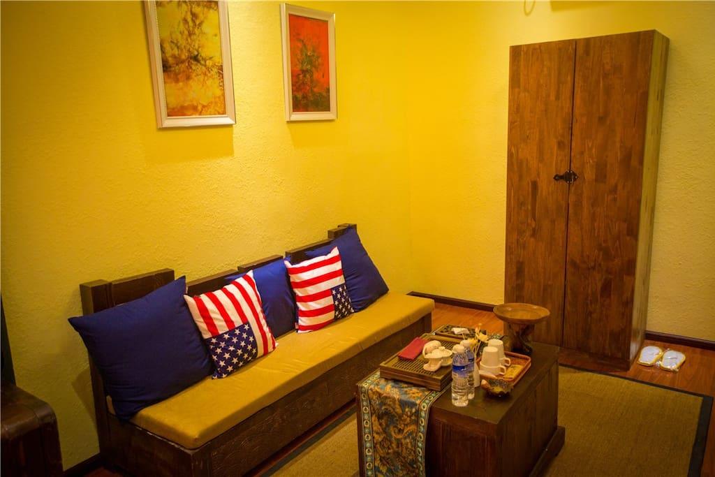 室内休息区