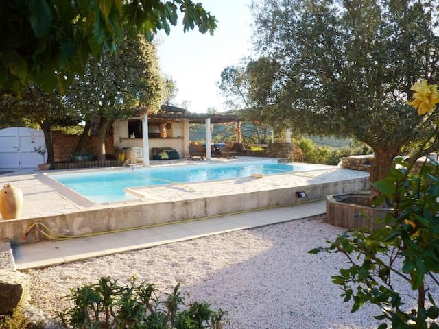 Design & Warm Villa with Swimming Pool in Provence - Besse-sur-Issole