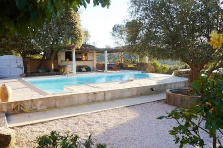 Design & Warm Villa with Swimming Pool in Provence - Besse-sur-Issole - Willa