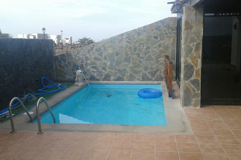 piscina en común