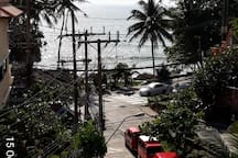 Beach-front Studio - Partial Seaview at Patong !
