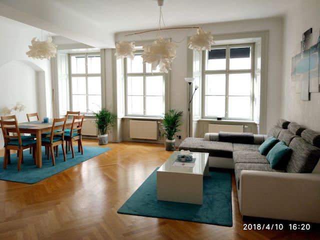Heart of Center - 1754 Vintage Viennese 79m² Apt1