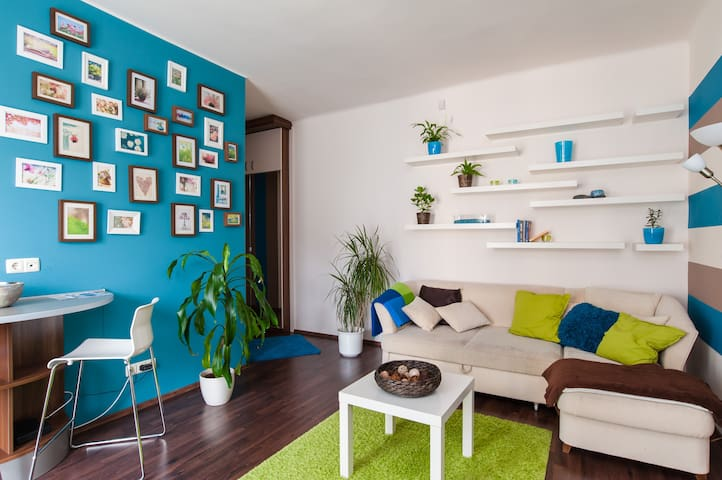 Modern Apartment on the Buda side - Budapeste - Apartamento