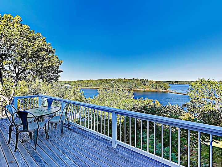 New Listing! Waterfront Retreat w/ Stunning Views