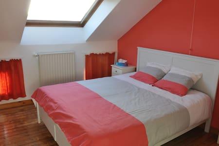 Chambre privée cosy 2 (25 min de Bxl et Charleroi) - Nivelles