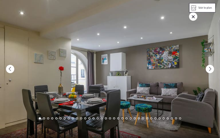 Apartment for 8 people in the heart of Paris !