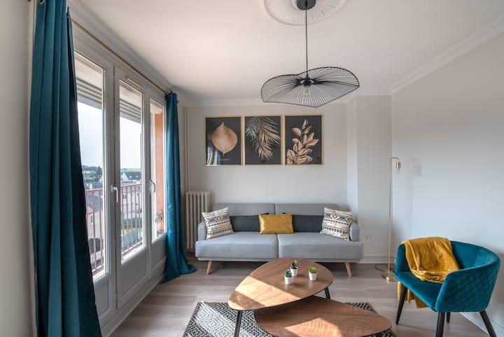 Cosy apartment near by Le Mans train station