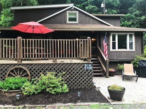 The Riverfront Cottage