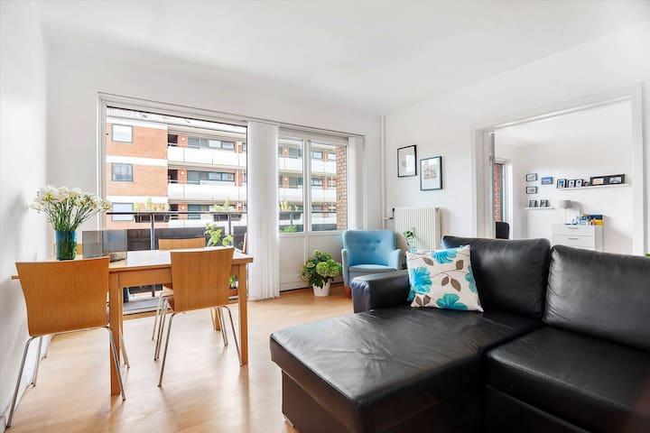 Spacious apartment, 2 bikes, central neighborhood - Kopenhagen - Appartement