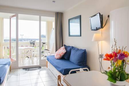 APPARTEMENT VUE MER + 2 VÉLOS NEUFS + WIFI - Talmont-Saint-Hilaire - 公寓