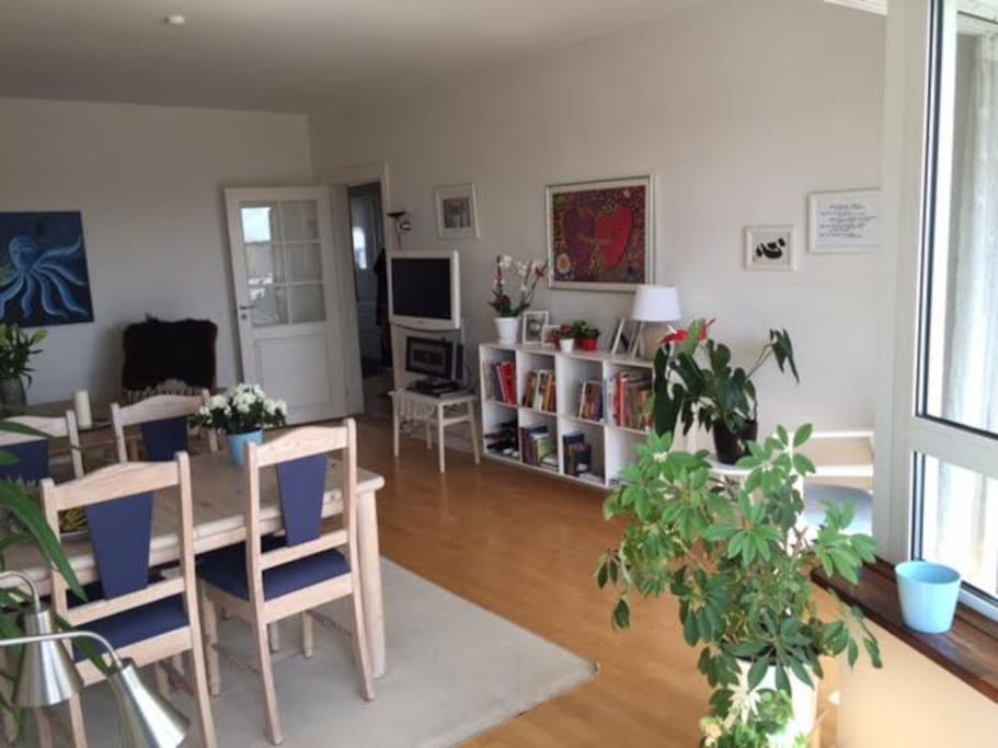 Livingroom light and spacious