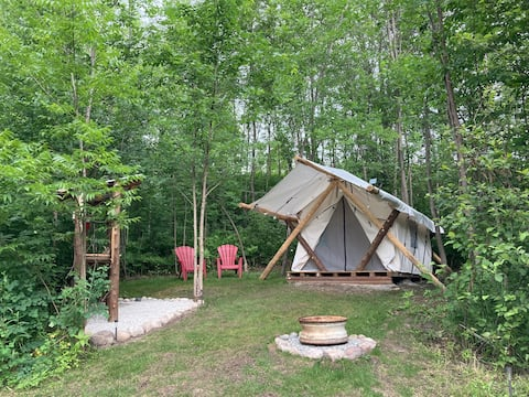 """Spanish River Luxury Tent, """"Casey's Place"""""""