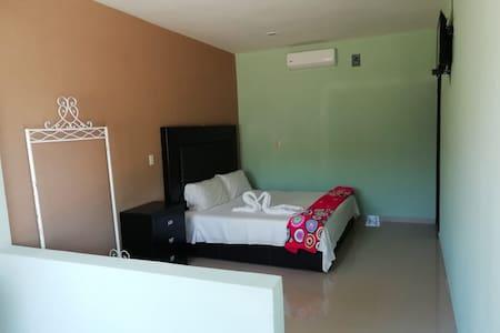 Habitaciones con una cama queen