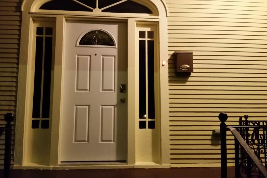 entrance at night 1.2