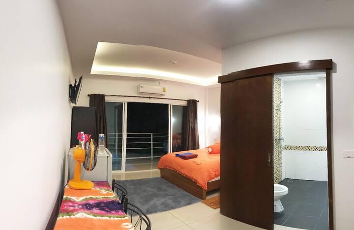 Full Deluxe Room with Balcony @ Rawai Beach Phuket