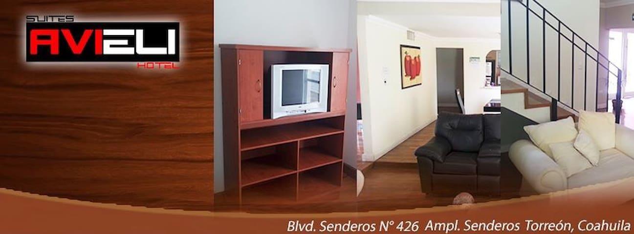 Hotel hostal suites avieli senderos - Torreón - Loft