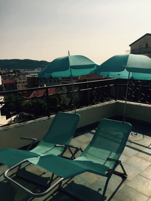 Relax in terrazzo con vista mare