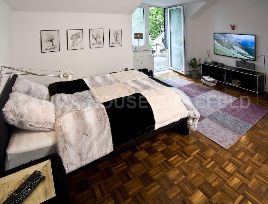 Schlafraum / bedroom