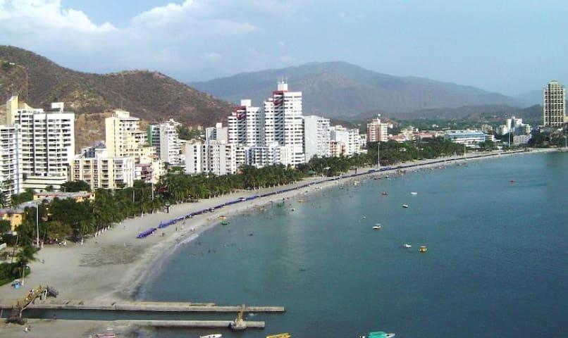 Apartamento como nuevo en Rodadero- Santa Marta