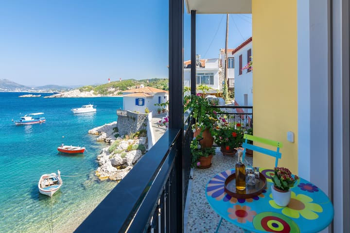 Beachfront apartment Efthimia