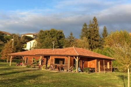 Maison en bois en Chalosse - House