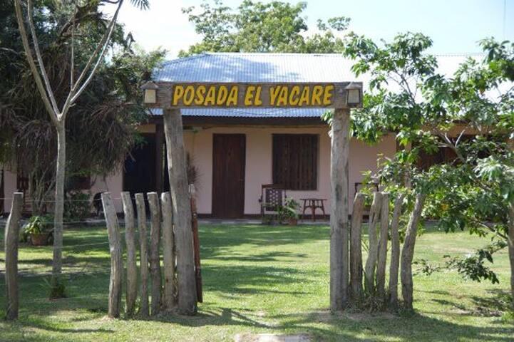 Visite Posada El Yacare en los Esteros Del Ibera!!
