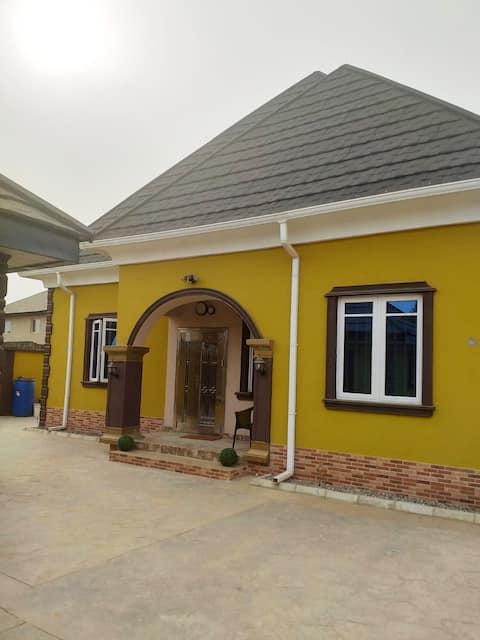The Yellow Brick Home