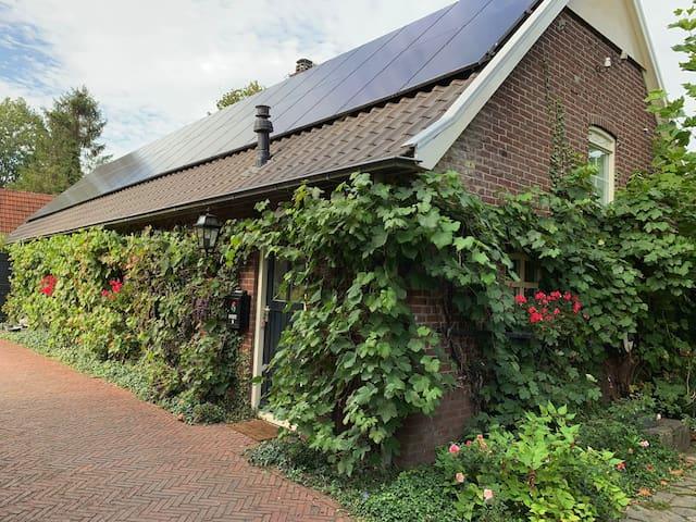Privé woning in groene omgeving
