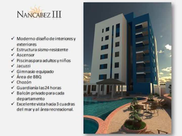 Departamento 2 dormitorios en Ed. Nancabez III