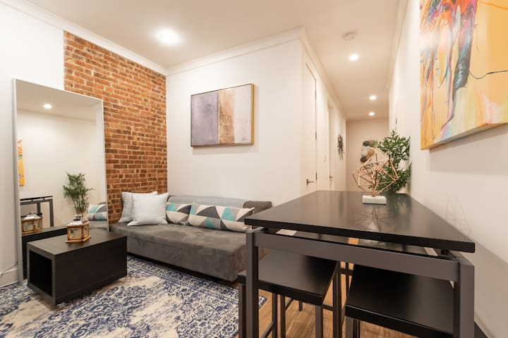 Modern 3BED LOFT Near Metro & Madison Sq.Park