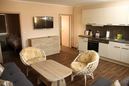 Ferienwohnung Elke (Buttstädt) - LOH07415, Ferienwohnung Nr. 6, 60qm, Balkon, 1 Schlafzimmer, max. 4 Personen