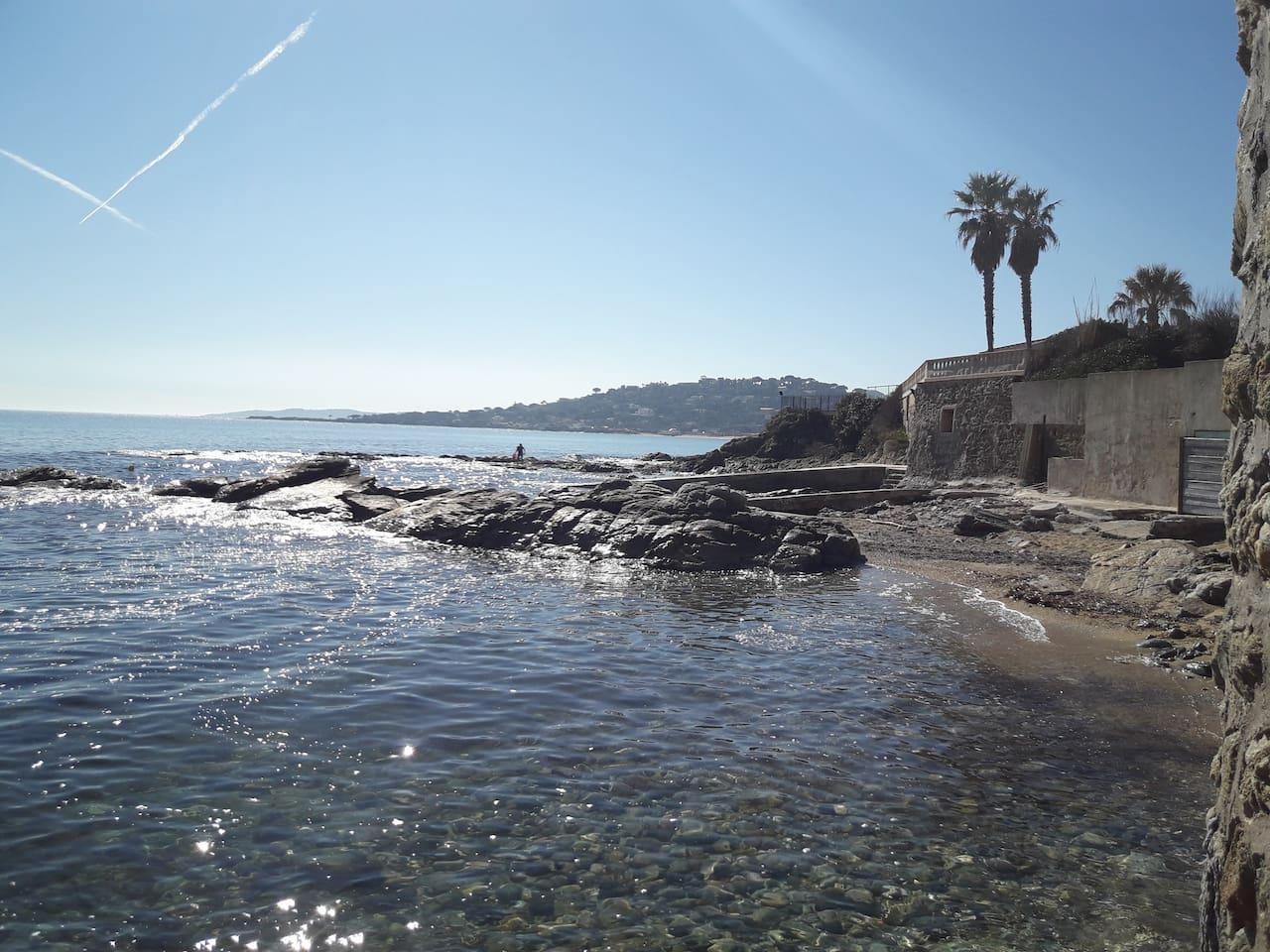 Balade le long du littoral à proximité