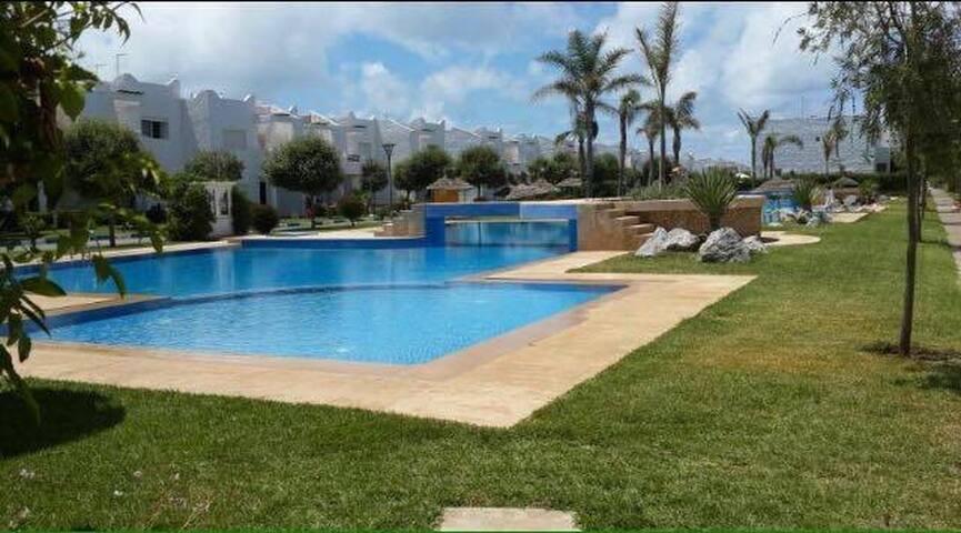 Villa Balnéaire pied dans l'eau (Lagon Bleu) - Sidi Rahal - Villa